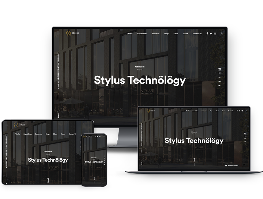 Stylus Website presentation